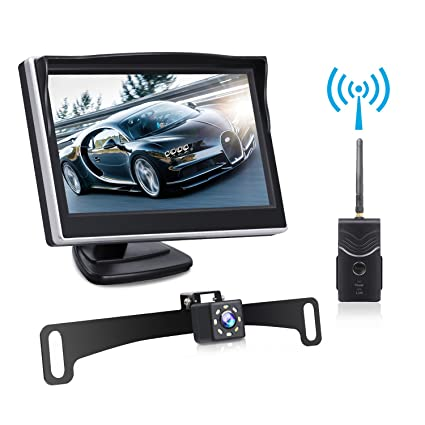 Exterior Car Video Useful 12v 170° Cmos Waterproof Auto Reversing View Parking Backup Hd Camera Kit White Always Buy Good