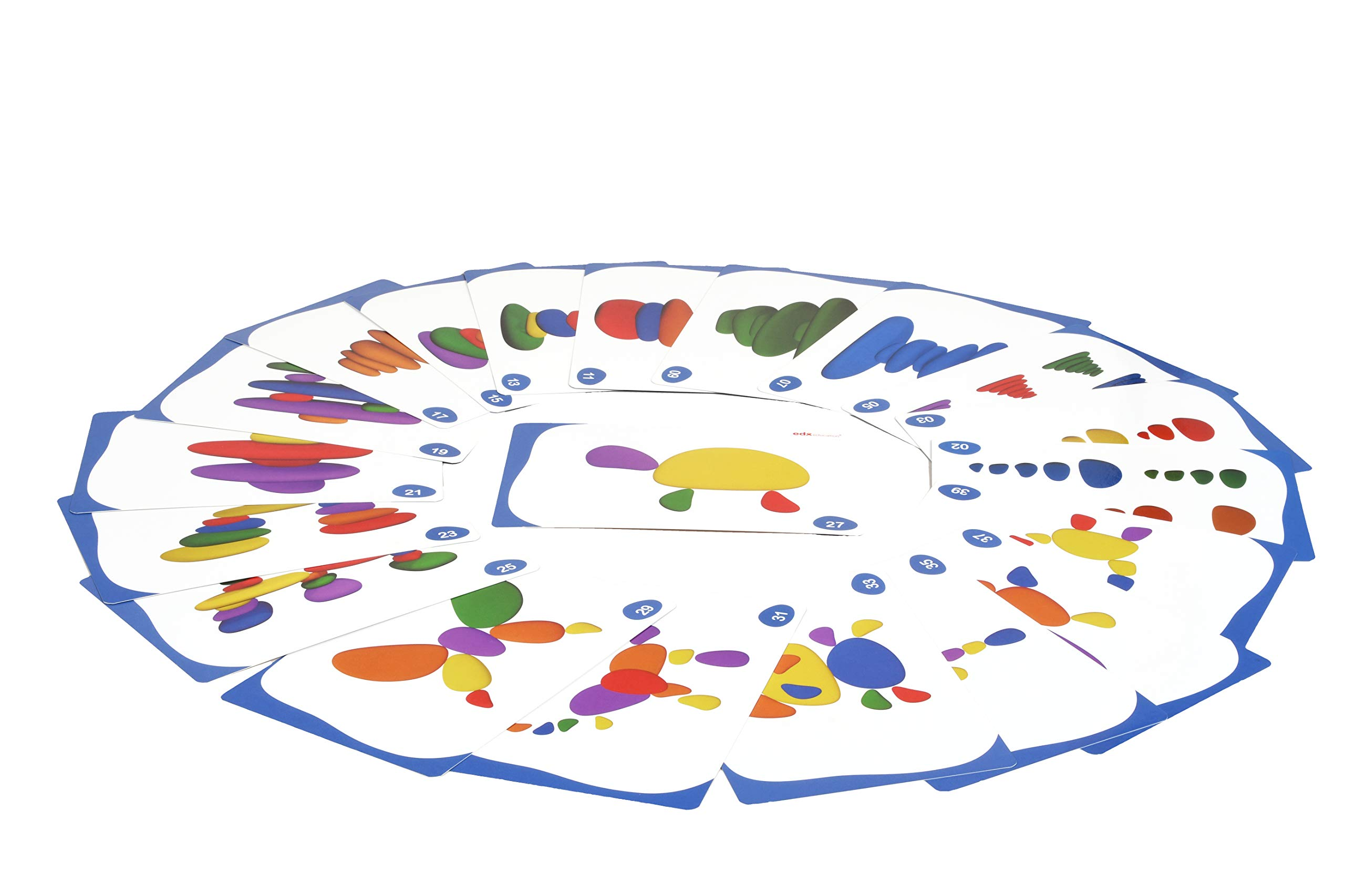 edx Education Rainbow Pebbles - Sorting and Stacking Stones by edxeducation (Image #12)
