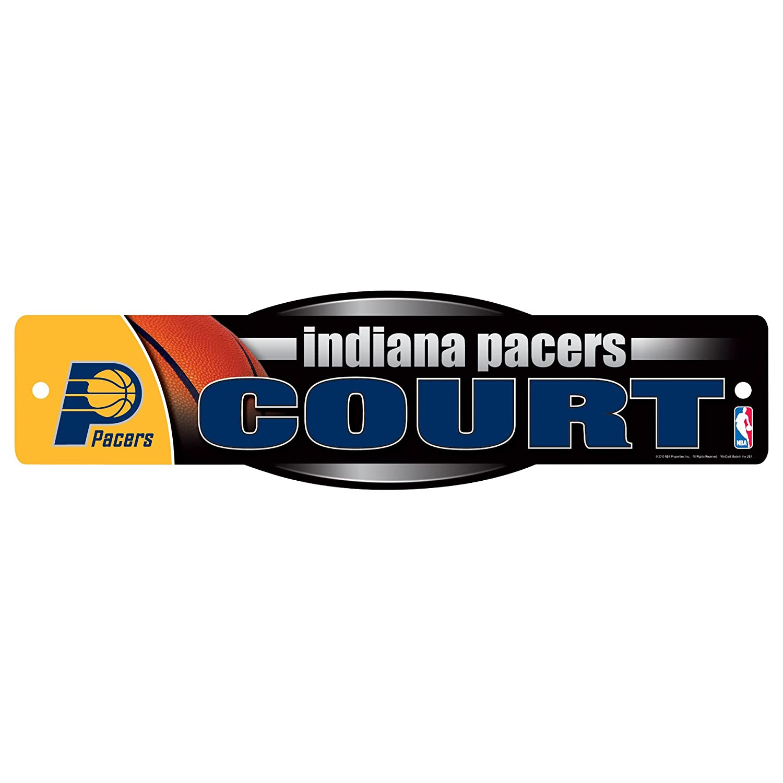 NBAインディアナペイサーズサイン、4.5 X 17インチ   B00FZN6TBQ