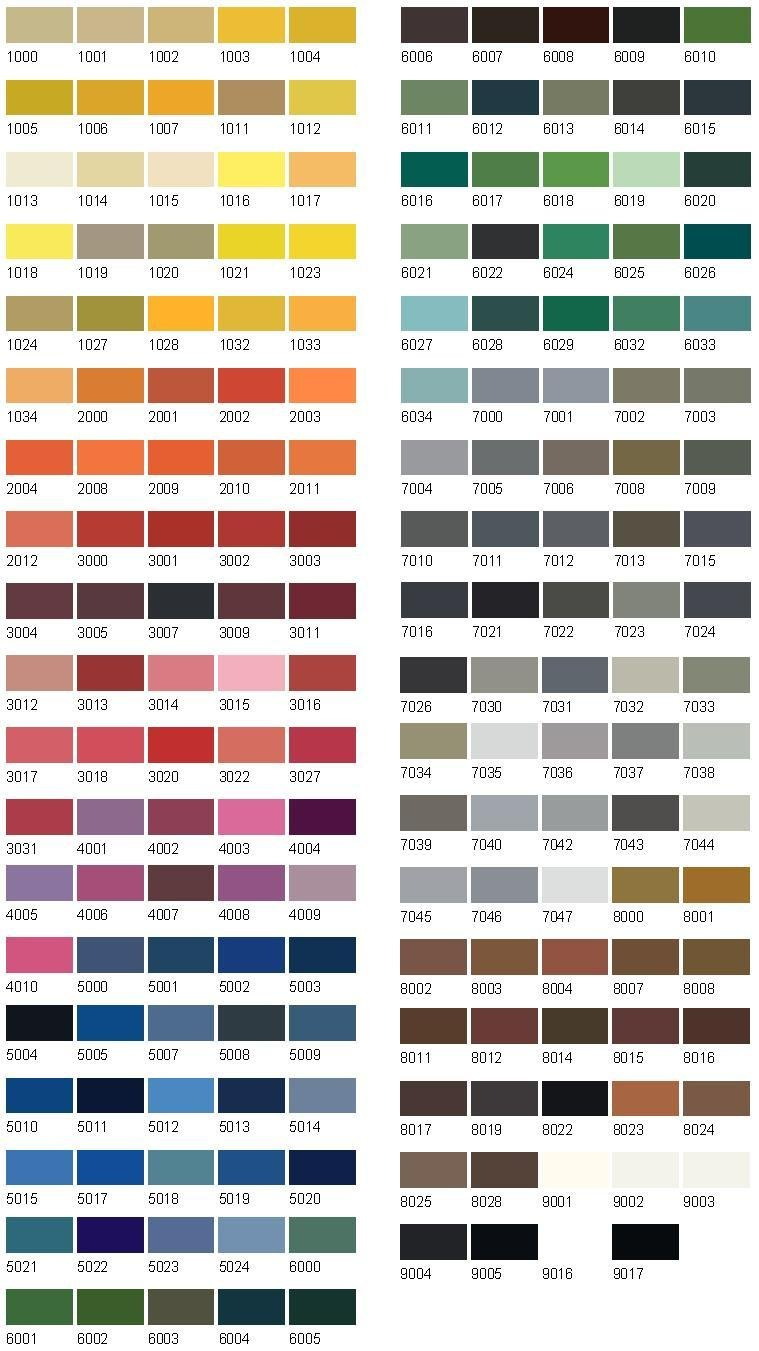 Leyland paints colour chart - Trade Paints 2k Acrylic Enamel Paint Car Commercial All Bs Ral Colours 5ltrs Gloss Amazon Co Uk Diy Tools