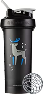 BlenderBottle Arctic Animals Classic Shaker Bottle Perfect for Protein Shakes and Pre Workout, 28-Ounce Stag