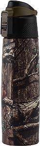 O2COOL Vacuum Stainless Steel Hot/Cold Drinking Bottle 17 oz., Mossy Oak Break-Up Infinity