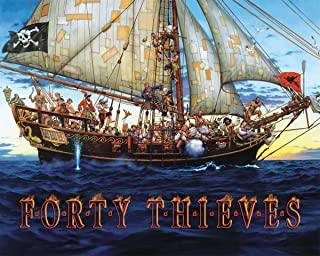 product image for White Mountain Puzzles Forty Thieves