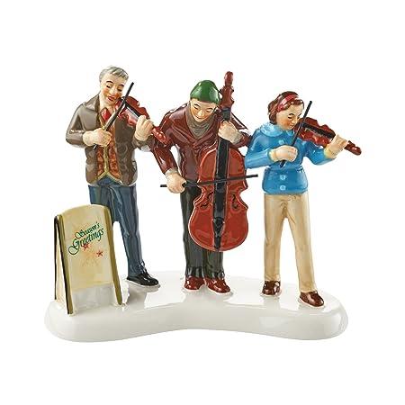 Enesco Department 56 – Snow Village String Trio Figurine