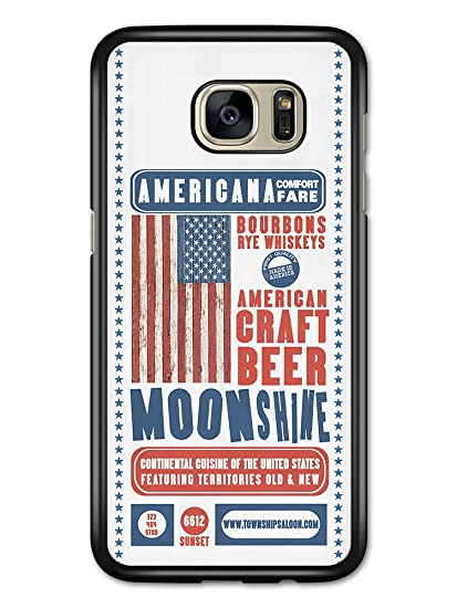 Amazon Com Cool American Craft Beer Moonshine Poster Design Case