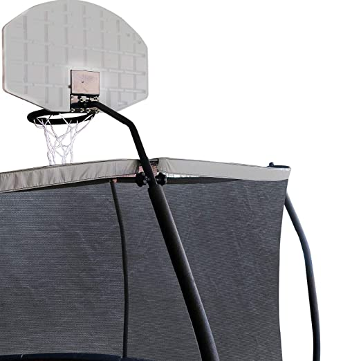 Amazon.com : JUMP POWER Metal Trampoline Basketball Hoop - Sturdy Basketball Hoop for Trampoline - Trampoline Basketball Hoop Attachment Includes Inflatable ...