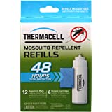 Thermacell R-4 Mosquito Repeller Refill, 48 Hour Pack (12 Repellent Mats and 4 Butane Cartridges)