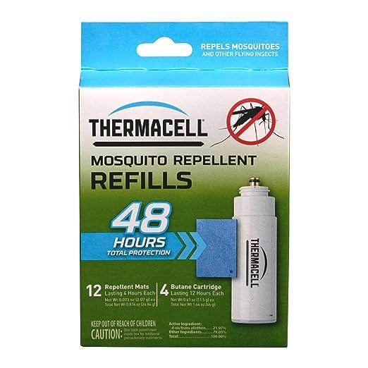 2 opinioni per Thermacell repellente per zanzare repellente per confezione di ricarica per,
