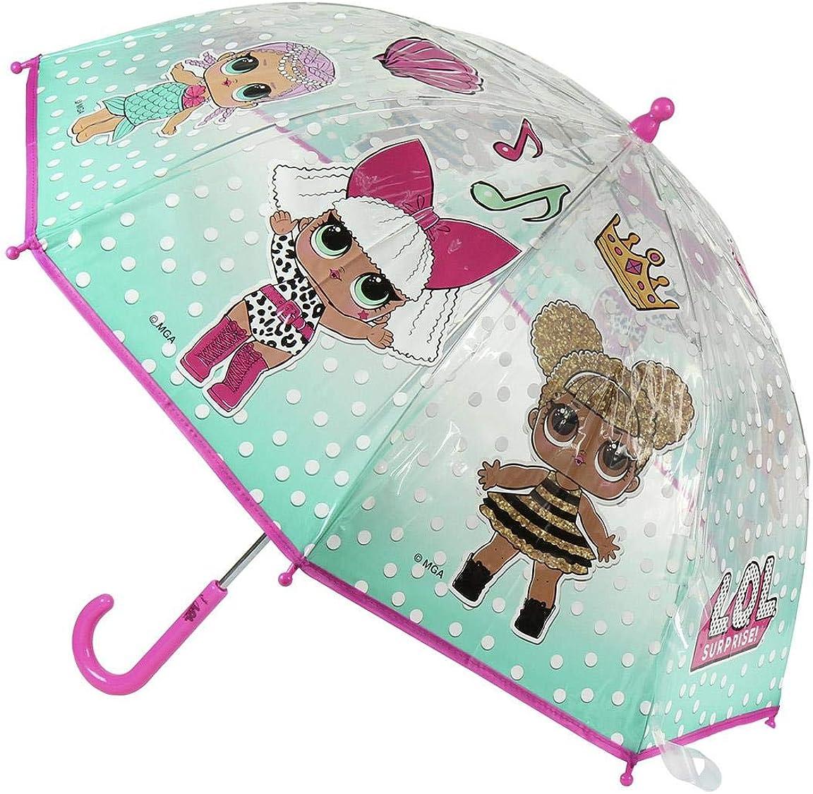 Cerd/á Paraguas Manual Burbuja LOL Ni/ñas