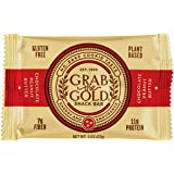 Grab The Gold Energy Snack Bars, Box of 12 Bars (chocolate peanut butter)