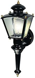 Heath Zenith Motion-Activated Four-Sided Coach Light