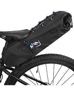 10L Bolsa de Sillín de Bicicletas MTB Alforja 46x16x15cm para Bici ...