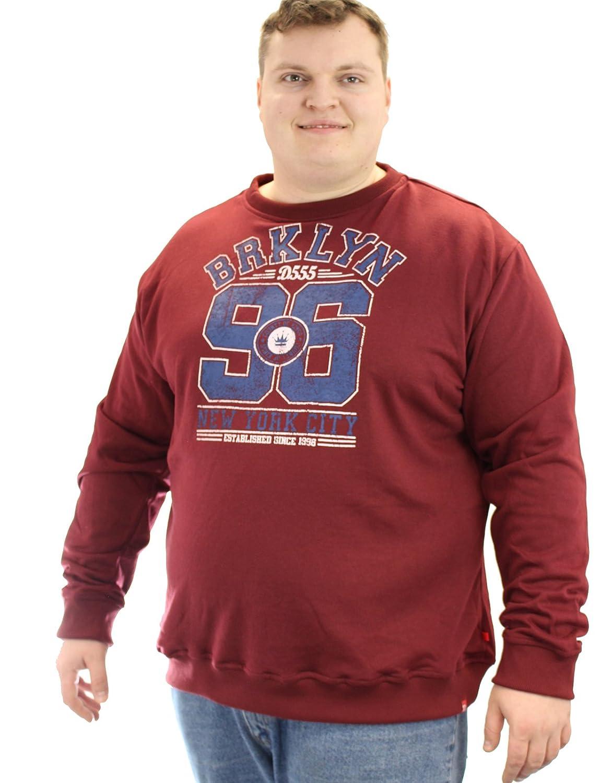 D555 Balmoral Crew Neck Sweatshirt With Brooklyn 96
