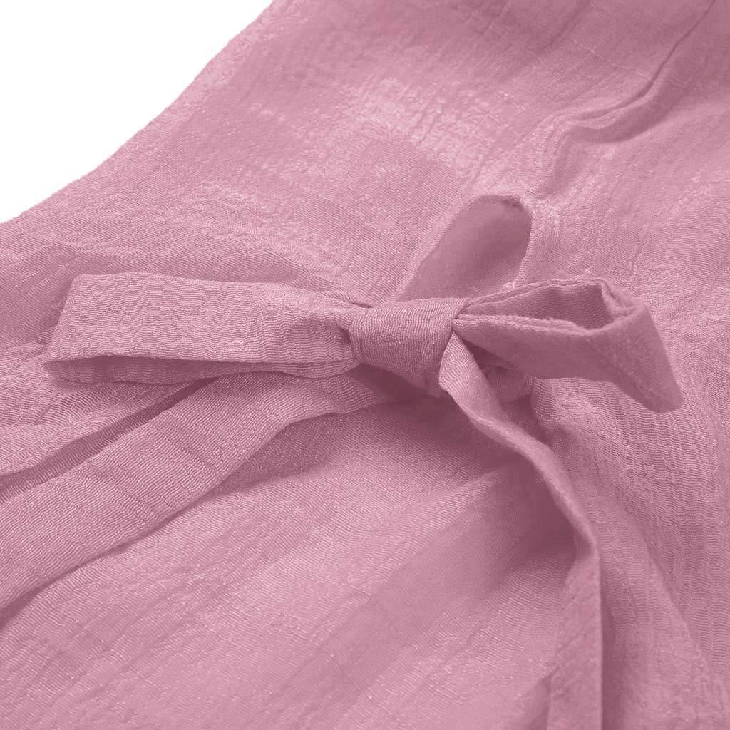 Sttech1 Womens Short Sleeve Linen Shirt Loose Button Long T-Shirt Ladies Casual Tops T-Shirt Blouse