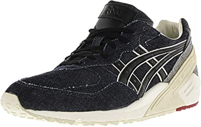new concept bcfc9 4c33f ASICS Men's Gel-Sight Navy/Black Ankle-High Leather Fashion ...