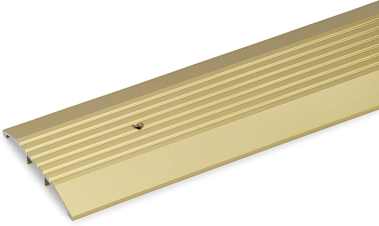 5 Wide x 1//2 High Gold Anodized Aluminum Threshold 36 Long 3 FT