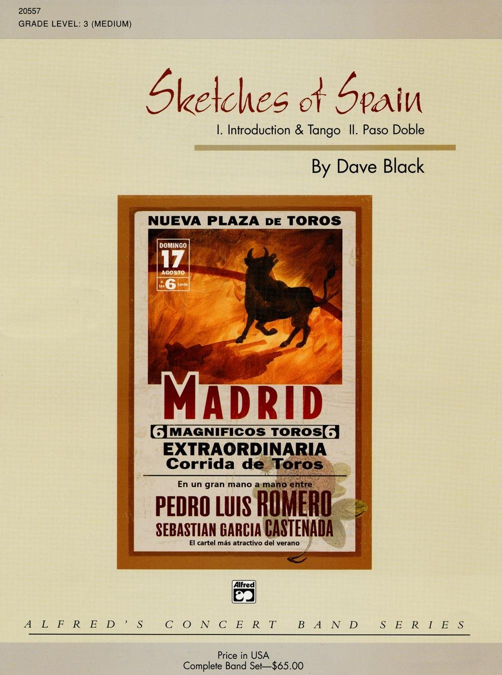 Sketches of Spain Conductor Score & Parts: 0038081196510 ...