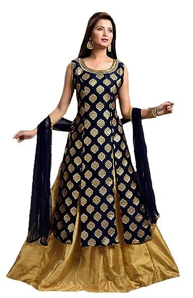 Amazon.com: gowns for women party wear (lehenga choli for wedding ...