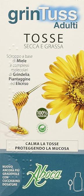 ABOCA Grintuss jarabe adultos 180 g: Amazon.es: Salud y cuidado ...