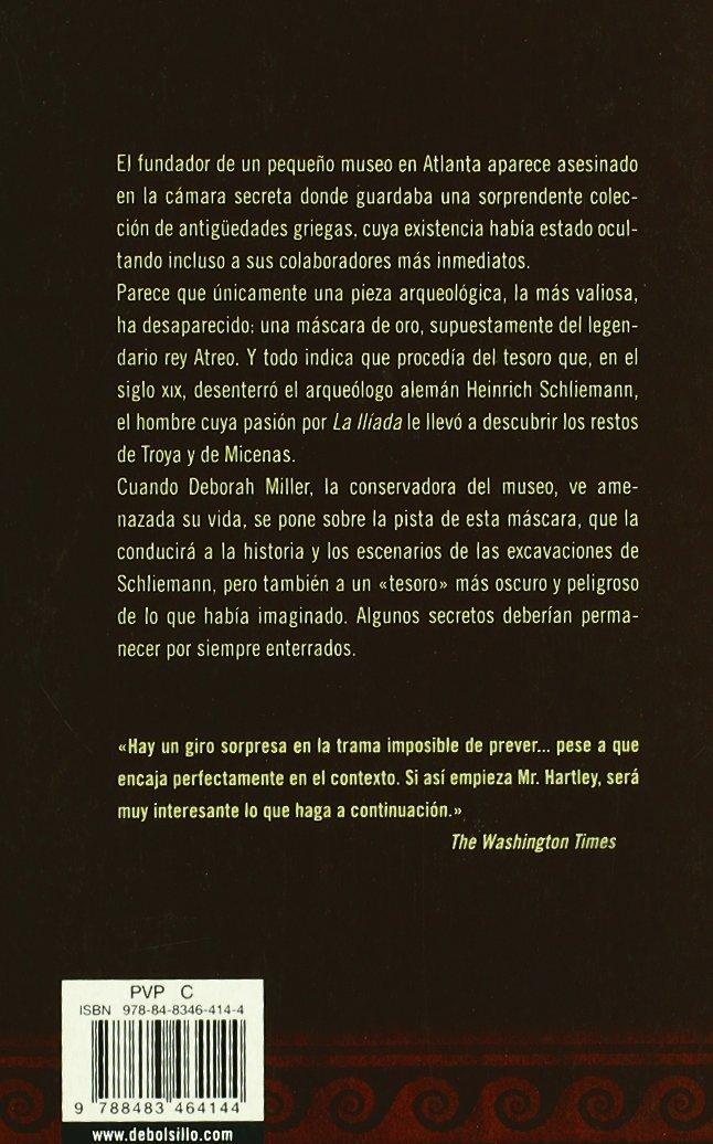 La máscara de Atreo (BEST SELLER): Amazon.es: A. J. Hartley, MARIA DEL MAR;RODRIGUEZ GONZALEZ, CONCEPCIÓN;DOMINGUEZ PALOMO, ANA ISABEL; RODRIGUEZ BARRENA: ...