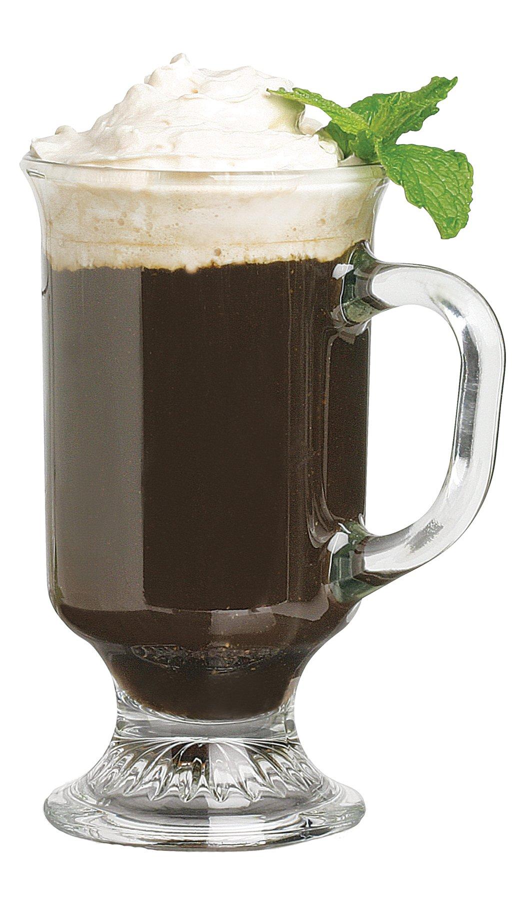 Anchor Hocking Irish Coffee Glass Coffee Mugs, 8 oz (Set of 12) by Anchor Hocking (Image #2)