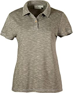 product image for Akwa Women's Slub Polo Made in USA