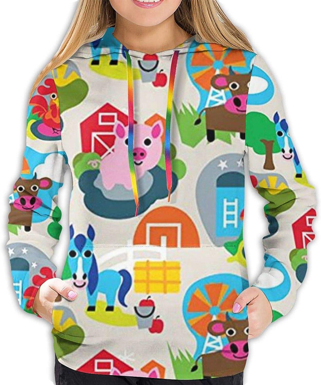 Amazon.com: Chicken Horse Bull Pig Hoodies Women Active Hoodie Fashion  Popular Loose Pullover Women's Sweatshirts: Clothing
