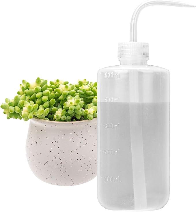 250//500ML Succulents Bonsai Watering Squeeze Long Nozzle Water Bottle Household