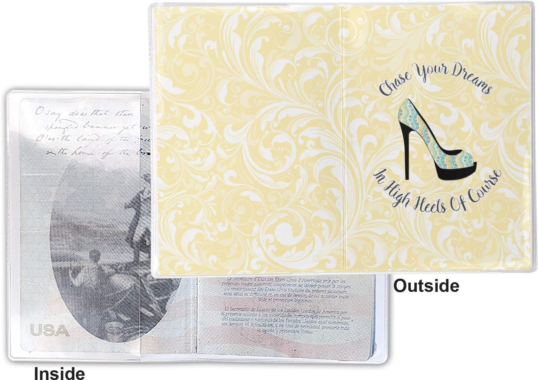 High Heels Vinyl Passport Holder