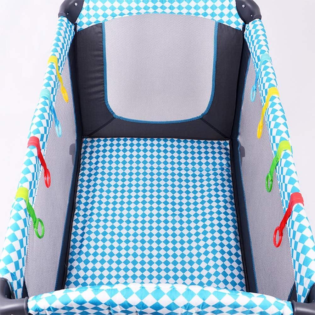 Lorcoo 4pcs Anillas para Cunas y Parques Agarraderas para Parques Bebes Ayuda a Su Bebe a Ponerse de Pie Facilmente