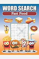 Word Search Fast Food: Large Print Word Find Puzzles Paperback
