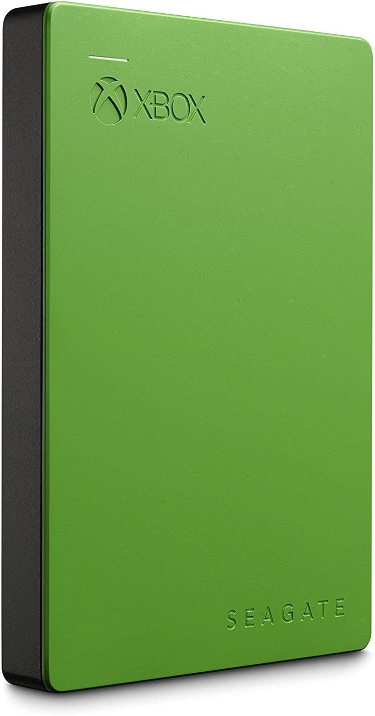 Seagate - Disco Duro Externo para Xbox Green Xbox One y 360 USB ...