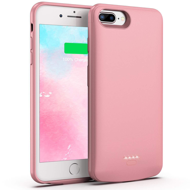 Funda Con Bateria De 5500mah Para iPhone 8 Plus/7 Plus