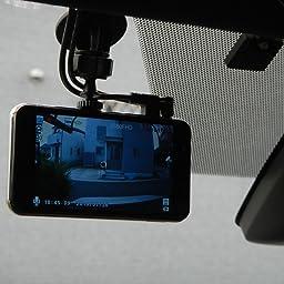 Amazon Autosoct オートソクト ドライブレコーダー 前後カメラ 4インチ1080p Fhd10万画素 170度超広角 デュアルドライブレコーダー 暗視対応 Gセンサー 循環録画 エンジン連動 Led信号機対応ドラレコ 車載カメラ あおり運転対策 日本語説明書付き ドライブ