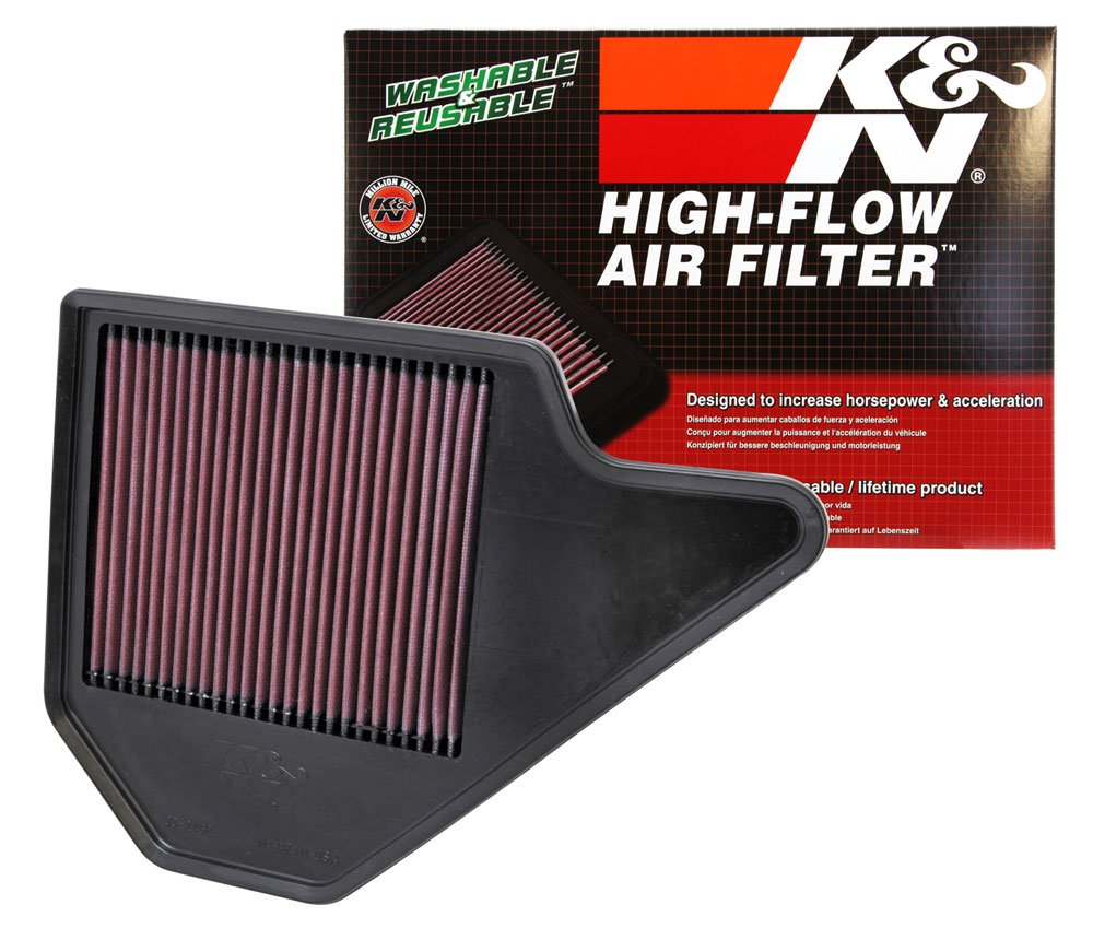 Kn 33 2462 High Performance Replacement Air Filter 2010 Dodge Caravan Fuel Automotive