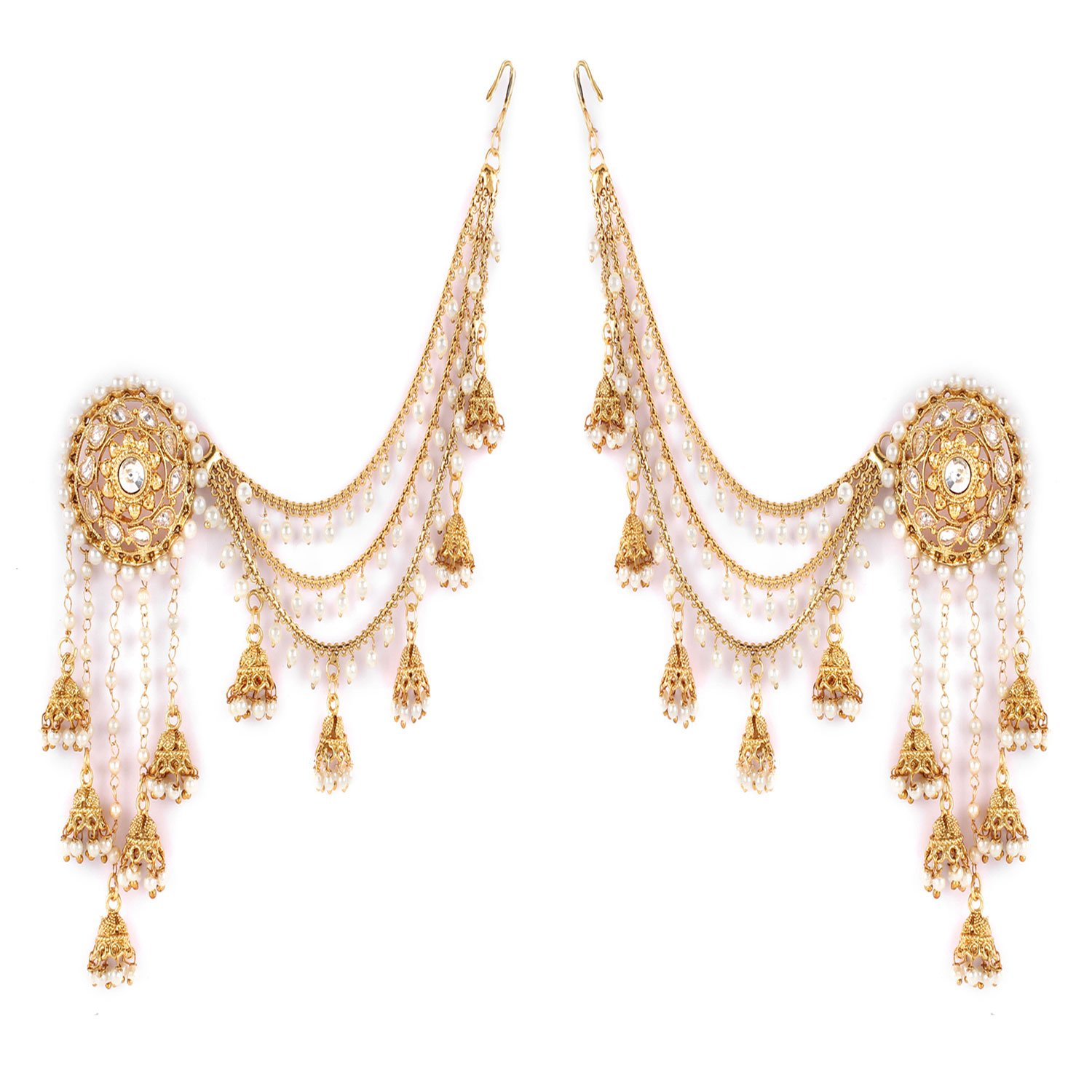 Shining Diva Fashion Gold Plated Fancy Party Wear Earring product image