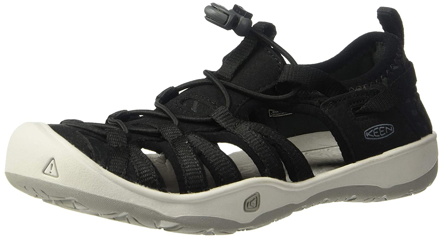 Keen Moxie Sandal Sandals, Black/Vapor, 2 M US Little Kid