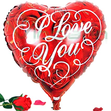 Globo Balón hinchable Corazón Rojo Love Amor San Valentín ...
