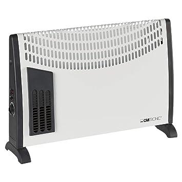 Clatronic KH 3433 - Convector con termostato regulable, 3 niveles de temperatura