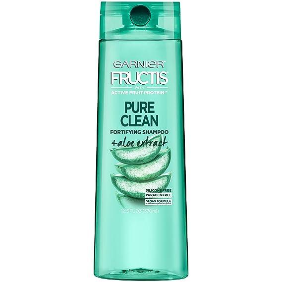 Amazon.com : Garnier Fructis Pure Clean Shampoo, Paraben-Free ...
