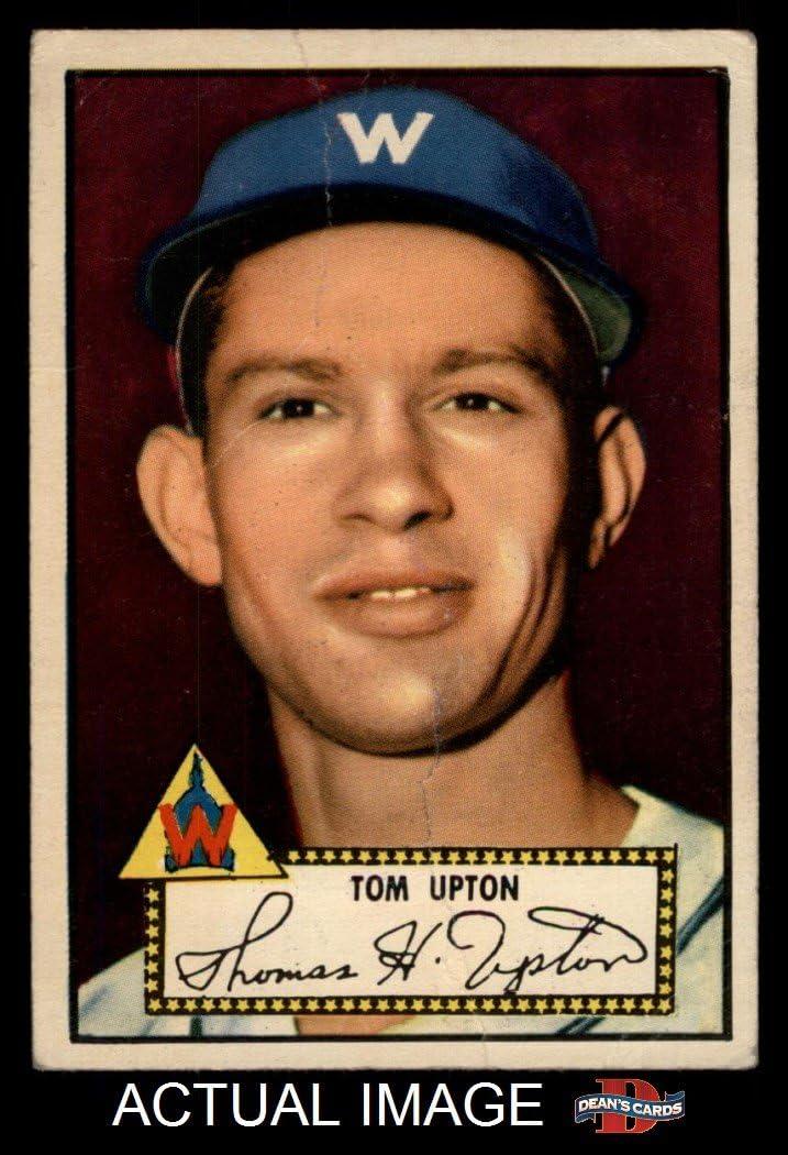 1952 Topps # 71 Tom Upton Washington Senators (Baseball Card) Dean'S Cards 2 - gut Senators