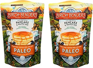 product image for Paleo Pancake and Waffle Mix by Birch Benders, Made with Cassava, Coconut, Almond Flour, 12 Ounce (Pack of 2)