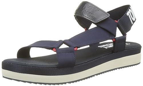 Sandalen TOMMY JEANS - Fresh Modern Sandal EN0EN00219 Midnight 403 wPUrzzH4