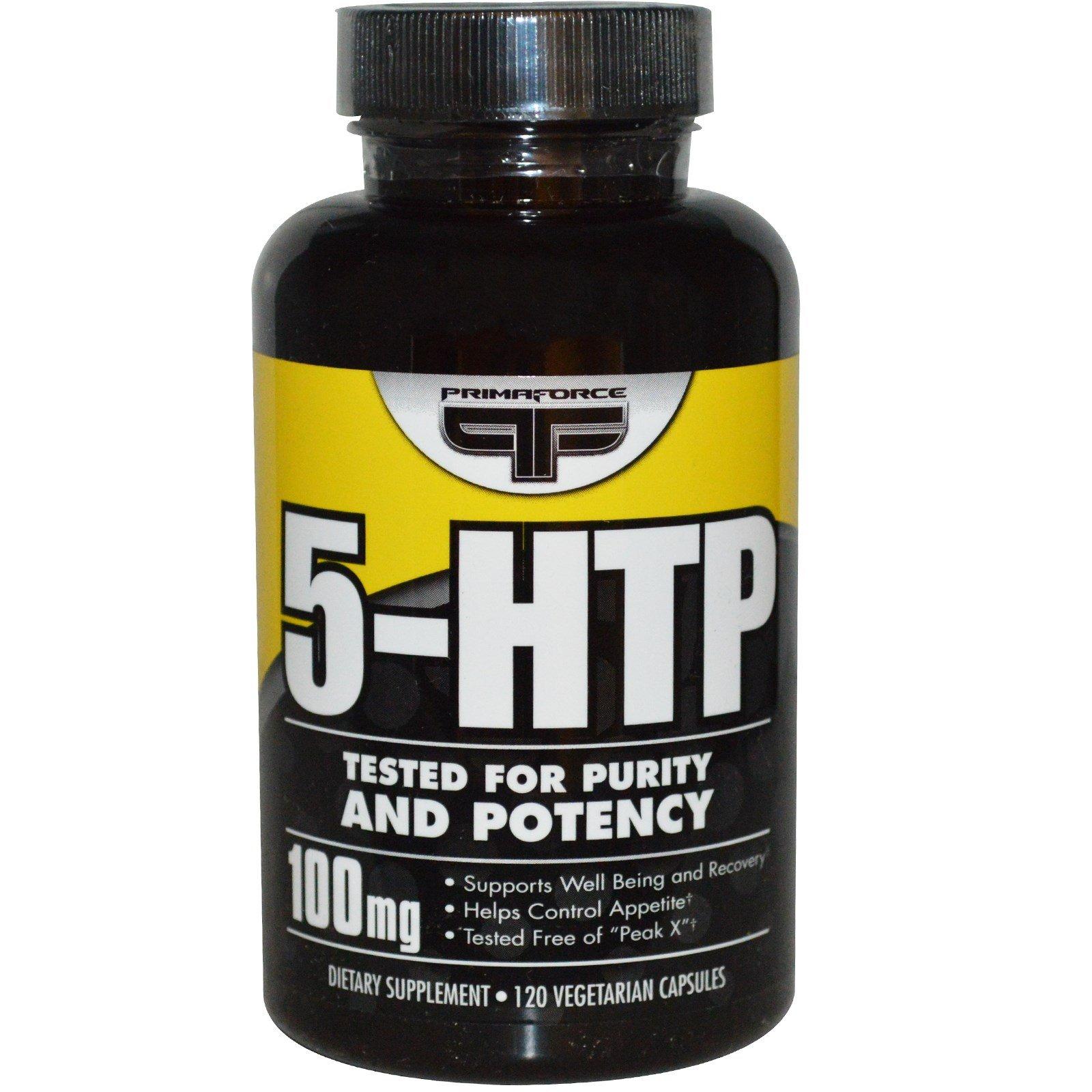 Primaforce, 5-HTP, 100 mg, 120 Veggie Caps - 3PC