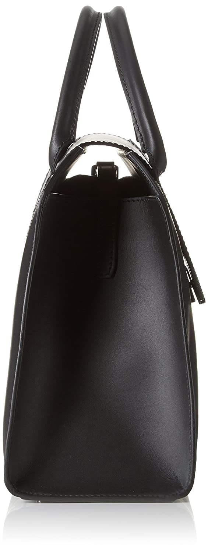 BREE Damen Cambridge 12, Top Handle Henkeltasche, Schwarz (Black), One Size Schwarz (Black)