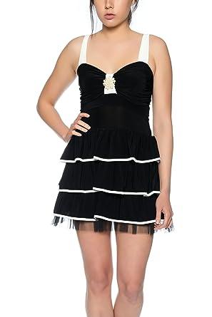 Elegante cremefarbene kleider