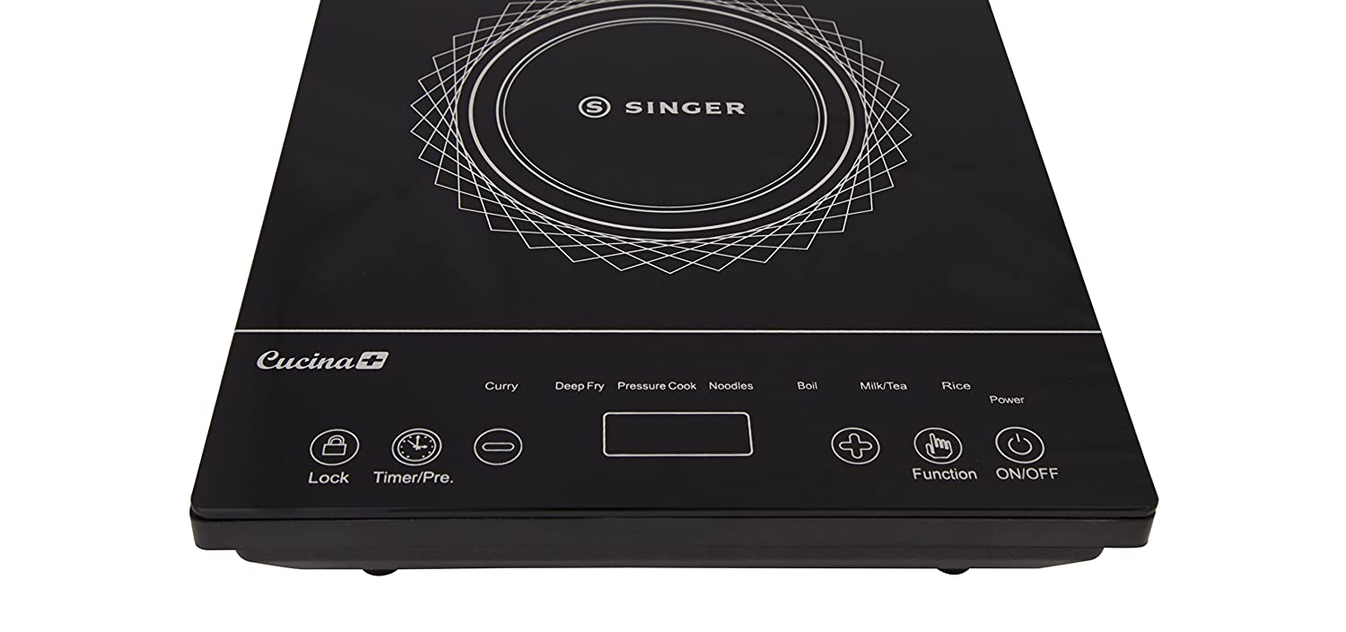 Buy Singer W Cucina Plus Feather Touch Induction Cooker - Singer kitchen equipment