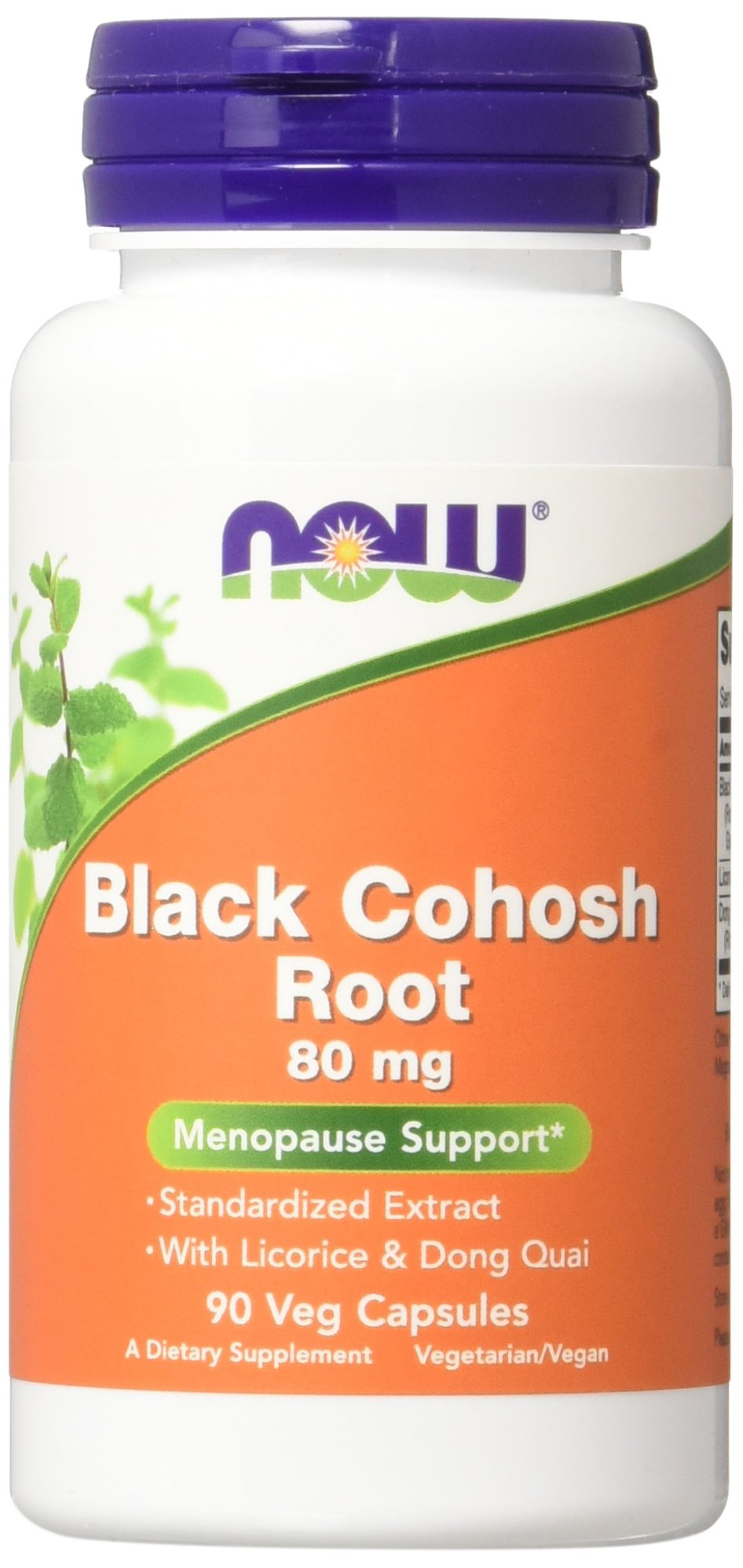 Now Foods Black Cohosh Vcaps, 2 Count