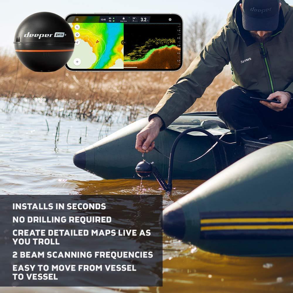 Deeper Pro Plus GPS Smart Sonar Bluetooth Fish Finder