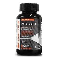 *Flash Sale* L-Carnitine 1000mg 60 Tabs Energy   Cardiovascular Health   Lean Muscle...